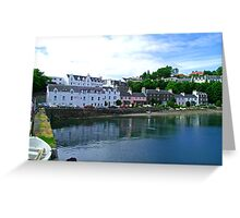 Portree Harbour Greeting Card