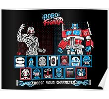 Robo Fighter shirt mug pillow iPhone 6 case leggings Poster