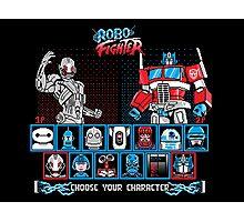 Robo Fighter shirt mug pillow iPhone 6 case leggings Photographic Print