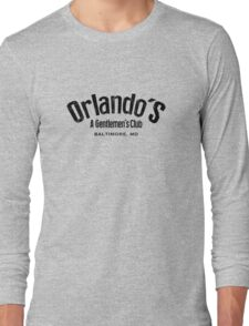 The Wire - Orlando's Gentlemen's Club Long Sleeve T-Shirt