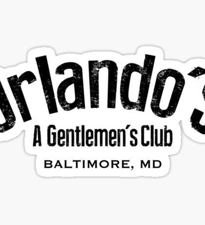 The Wire - Orlando's Gentlemen's Club Sticker