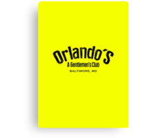 The Wire - Orlando's Gentlemen's Club Canvas Print