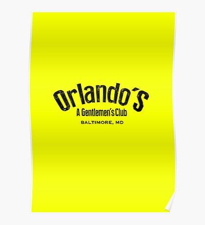 The Wire - Orlando's Gentlemen's Club Poster