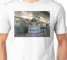 Retro Diner Interior Unisex T-Shirt