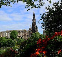 The Scott Monument by Wrayzo