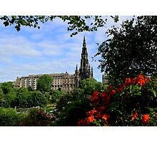 The Scott Monument Photographic Print