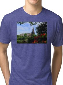 The Scott Monument Tri-blend T-Shirt