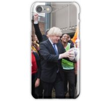 Boris Johnson visits Ealing college iPhone Case/Skin