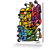 Machine Greeting Card