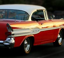 Sunset on the Old Pontiac by Ken Fortie