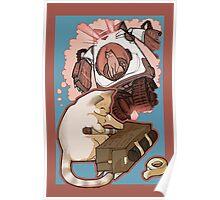 Puddin' Builds A Catbot Poster