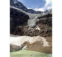 Angel Glacier Photographic Print
