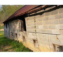 Cracking Wall Photographic Print