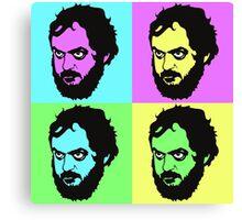 Kubrick - Warhol Style Canvas Print