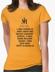 Club Mac - Lousy T Womens Fitted T-Shirt