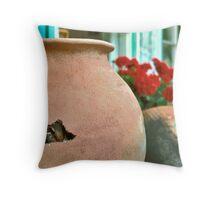 Baci Camouflaged Throw Pillow