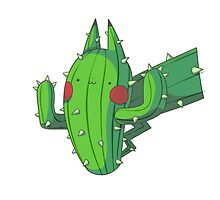 Cactus Pikachu by Daanrekers