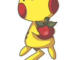 Cute pikachu by Daanrekers