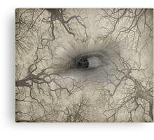 Watcher In The Woods Metal Print