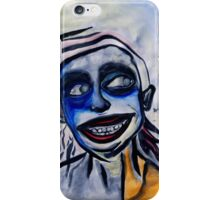'i know what you're thinking' iPhone Case/Skin