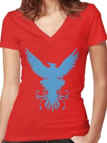Anivia  Women's Fitted V-Neck T-Shirt