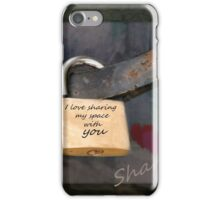 Sharing iPhone Case/Skin