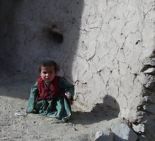 Girl (Afghanistan) by Antanas