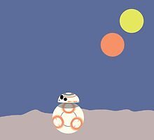 BB-8 (Soccer ball droid) by steelmunkey