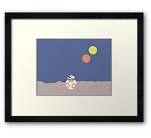 BB-8 (Soccer ball droid) Framed Print