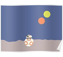 BB-8 (Soccer ball droid) Poster