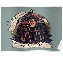Hush my monsters Poster