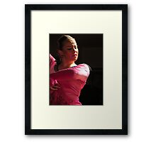 Pink Flamenco  Framed Print