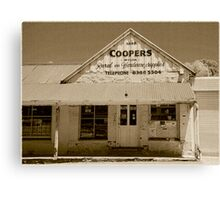 Coopers Rural & Hardware Supplies Canvas Print