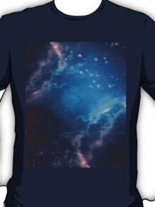 Blue space background T-Shirt