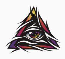 Illuminati Eye One Piece - Long Sleeve