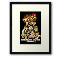 Sweep the Leg: Hill Valley Edition Framed Print