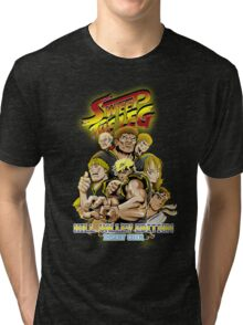 Sweep the Leg: Hill Valley Edition Tri-blend T-Shirt