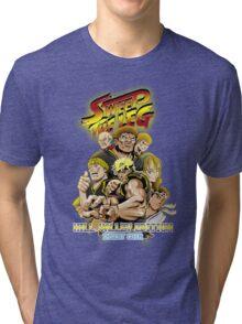 Sweep the Leg: Hill Valley Edition Tri-blend T-Shirt
