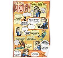 Hi! I am an Introvert! Poster