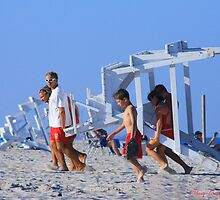 Lifeguard Station © by Mary Campbell