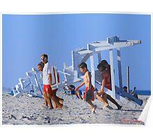 Lifeguard Station © Poster