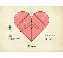 How big is your love for me? Photographic Print