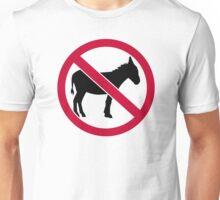 No donkey Unisex T-Shirt
