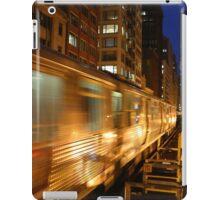 Chicago Elevated Train iPad Case/Skin