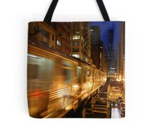 Chicago Elevated Train Tote Bag