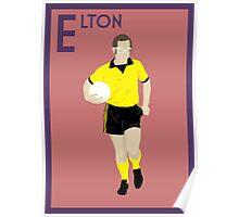 E: Elton John POSTER Poster