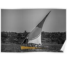 Yellow Dhow Poster