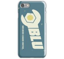 Blu Team Logo iPhone Case/Skin
