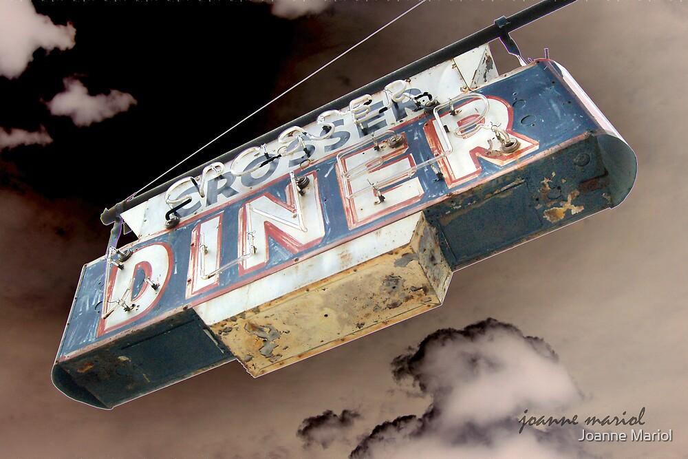 Vintage Diner Sign 1 by Joanne Mariol