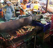 Night Market - Kitchen by Dave Lloyd
